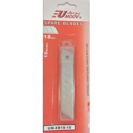 Spare Blades 18mm